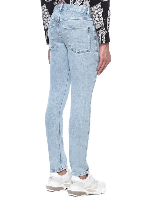 Kanh Mavi Normal Bel Boru Paça Jean Pantolon