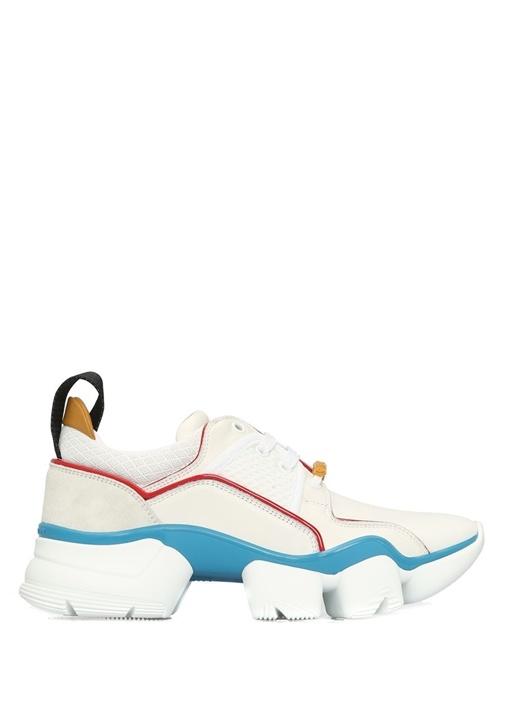 Jaw Beyaz Kırmızı Kadın Sneaker
