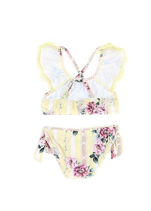 Nannas House Sarı Kız Çocuk Bikini Takımı