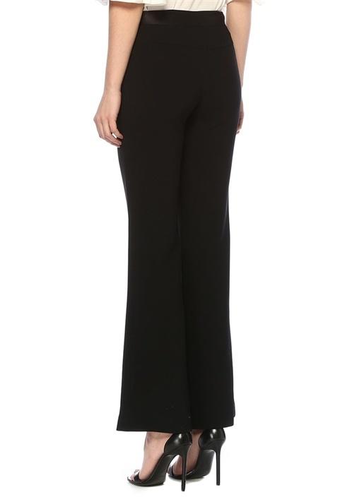 Garnett Siyah Normal Bel Bol Paça Pantolon