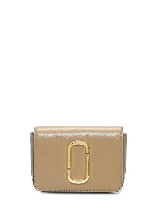Marc Jacobs Hip Shot Kahverengi Logolu Kadın Deri Bel Çantası – 3649.0 TL