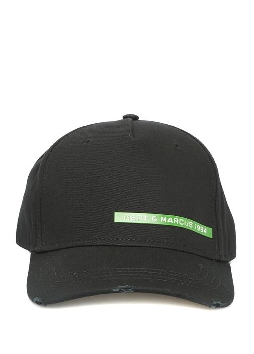 Mert Marcus 1994 Siyah Yeşil Erkek Şapka