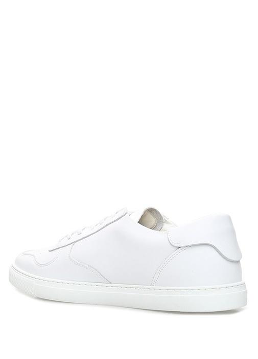 Mert & Marcus Beyaz Erkek Deri Sneaker