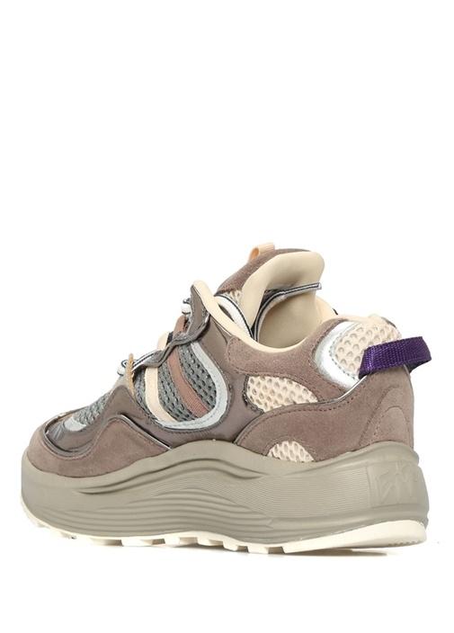 Jet Vizon Mavi File Detaylı Kadın Sneaker