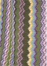 Colorblocked Sim Dokulu Kadın Şal