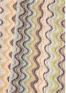 Colorblocked Dalga Desenli Kadın Atkı
