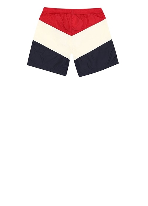 Kırmızı Colorblocked Erkek Çocuk Mayo