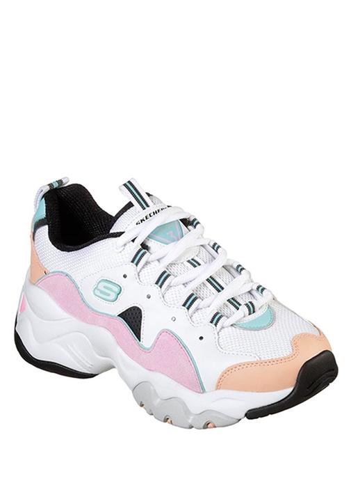 DLites 3 Zenway Beyaz Kadın Sneaker