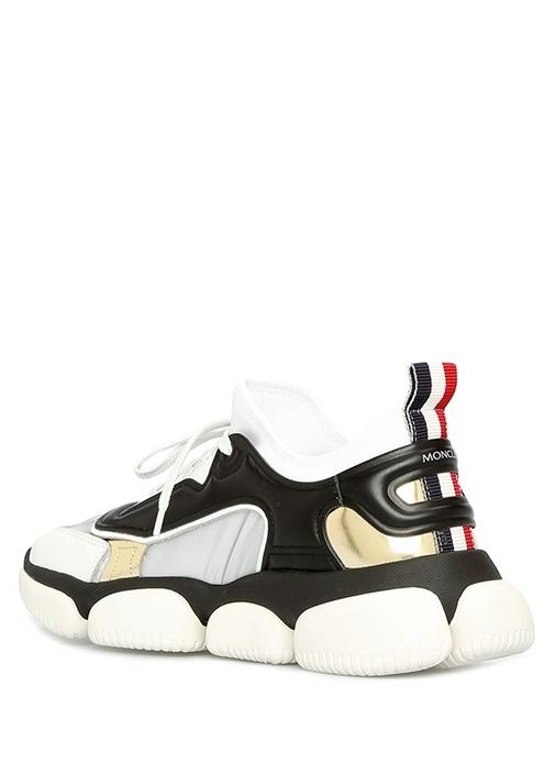 Brisis Siyah Gold Metalik Detaylı KadınSneaker