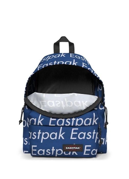 Padded Pakr Mavi Logo Baskılı Kadın Sırt Çantası