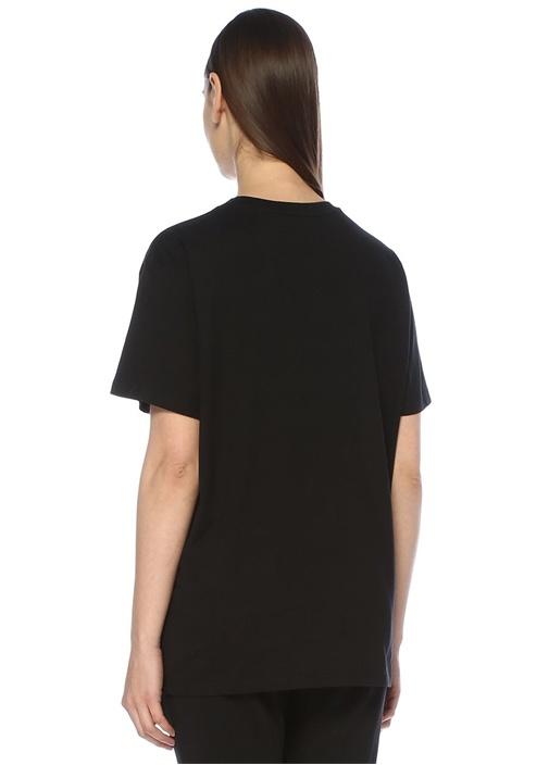 Boy London Siyah Beyaz Baskılı OversizeT-shirt