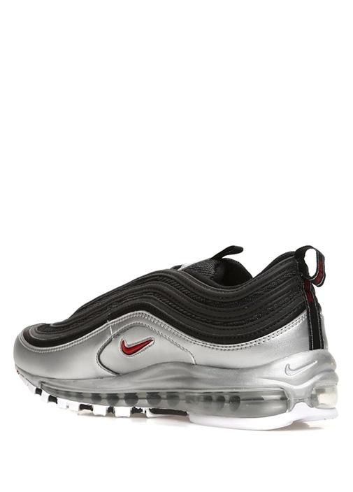 Air Max 97 Metalik Silver Siyah Erkek Sneaker