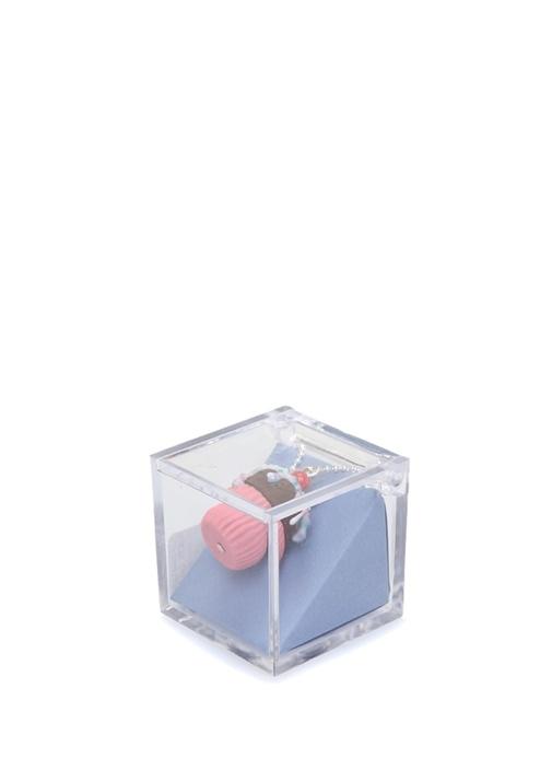 Cupcake Formlu Kadın Kolye