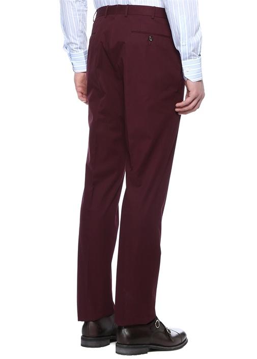 Drop 6 Kırmızı Normal Bel Boru Paça Pantolon