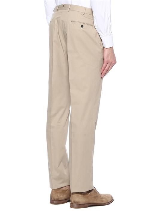 Drop 6 Bej Kanvas Pantolon