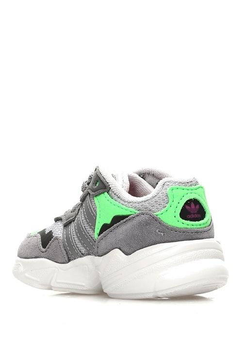 Yung 96 Gri Colorblocked Unisex Bebek Sneaker