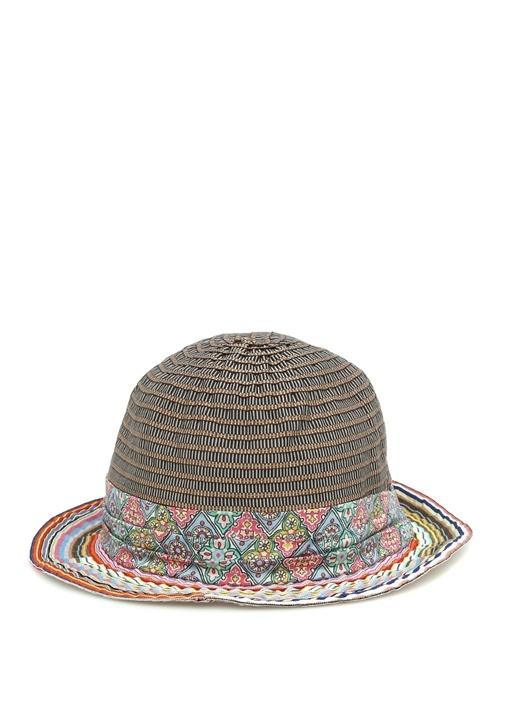 Colorblocked Karışık Desenli Erkek Şapka