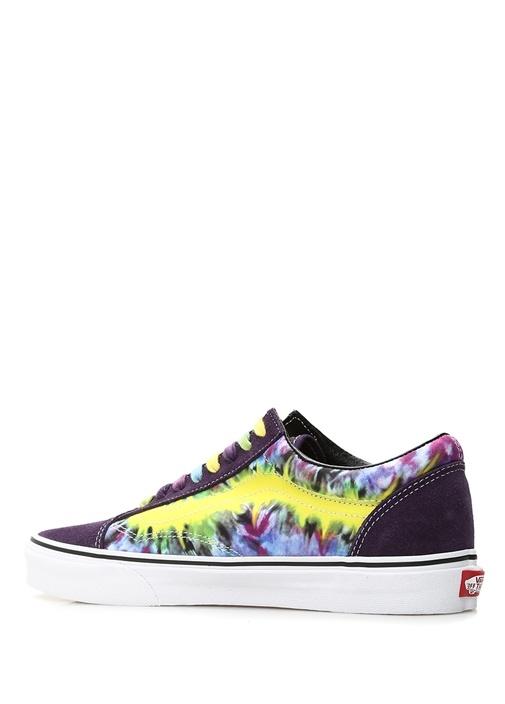 Tie Dye Old Skool Mor Erkek Sneaker