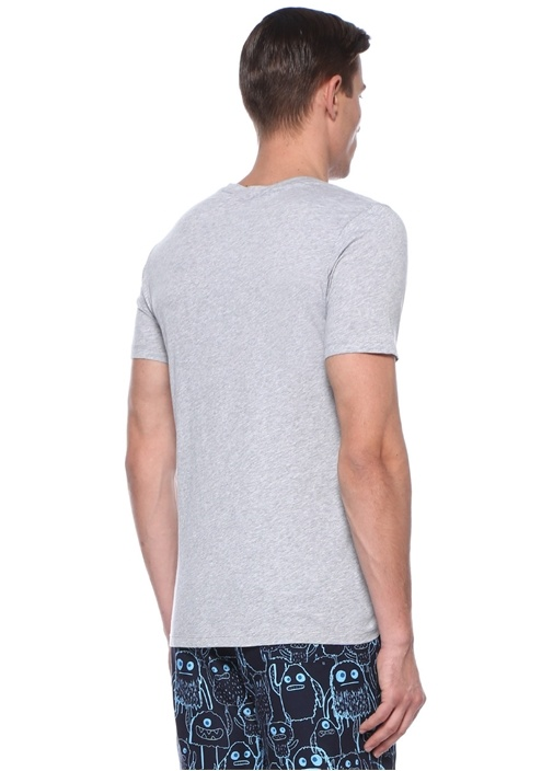 Elvis Gri Melanj Basic T-shirt