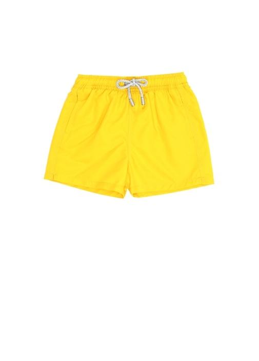 Regular Fit Arthus Sarı Erkek Çocuk Mayo