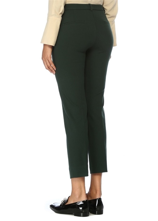 Luna Yeşil Bungee Cigarette Pantolon