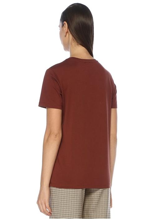Kiremit At Baskılı T-shirt