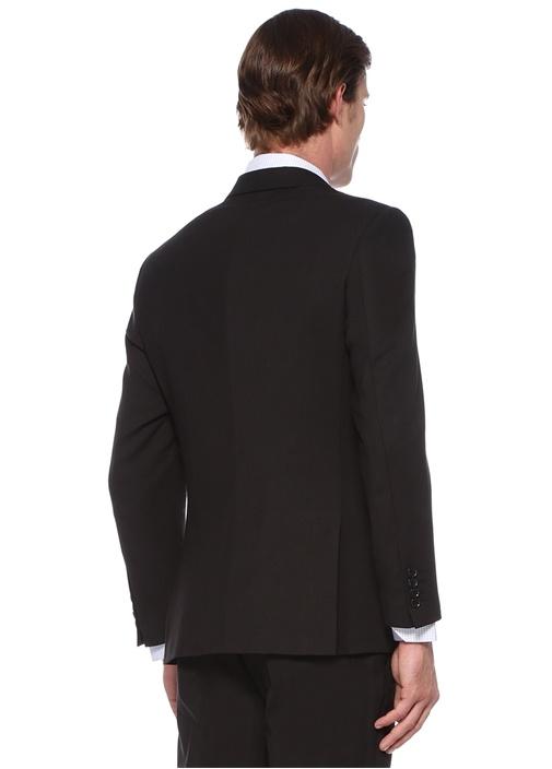 Drop 7 Füme Kelebek Yaka Yün Takım Elbise