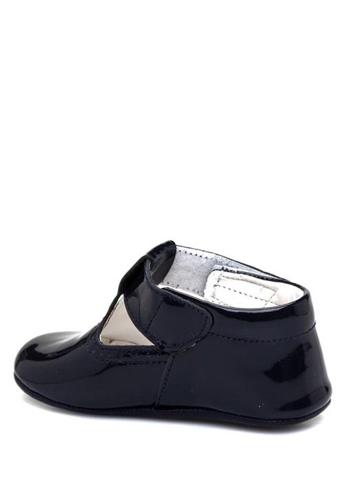 Siyah Kız Bebek Rugan Ayakkabı