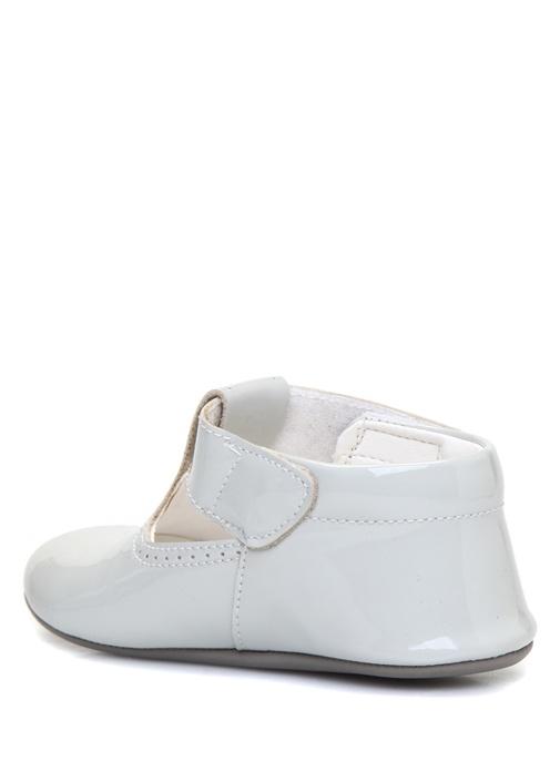 Beyaz Erkek Çocuk Deri Ayakkabı