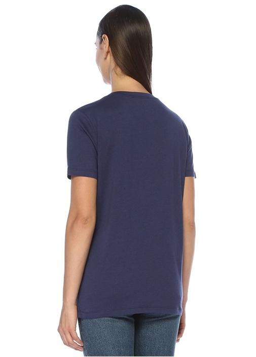 3lü V Yaka Basic T-shirt Seti