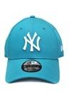 New York Nakışlı Mavi Erkek Şapka