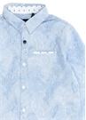 Mavi Çizgili Erkek Çocuk Gömlek