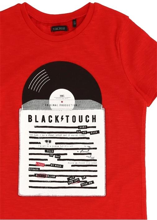 City Rock Kırmızı Baskılı Erkek Çocuk T-shirt