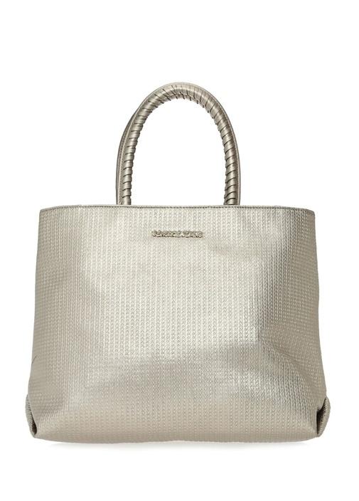 Versace Silver Zincir Desenli Kadın El Çantası – 532.0 TL