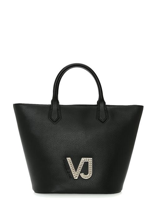 Versace Siyah Logolu Kadın Omuz Çantası – 863.0 TL