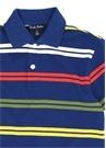 Lacivert Polo Yaka Logo Nakışlı Çocuk T-shirt