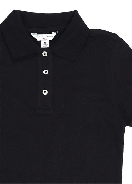 Lacivert Polo Yaka Unisex Çocuk T-shirt