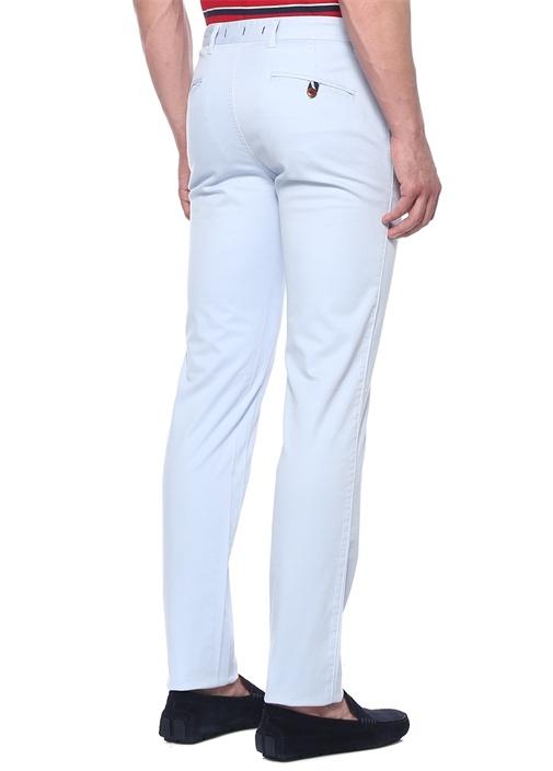 Mavi Boru Paça Kanvas Pantolon