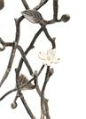 Dogwood Orkide Çiçeği Formlu Şamdan