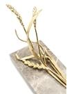Wheat Gri Gold Mermer Ayaklı Şaraplık