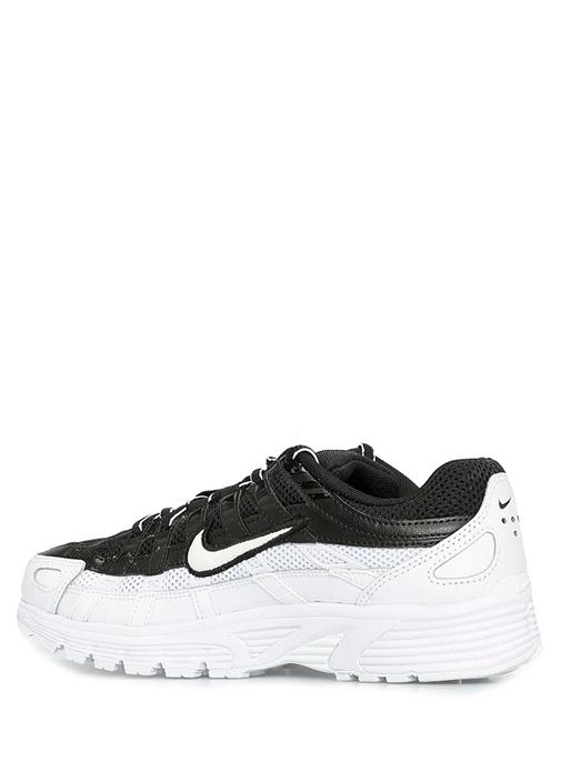 P 6000 Siyah Beyaz Kadın Sneaker