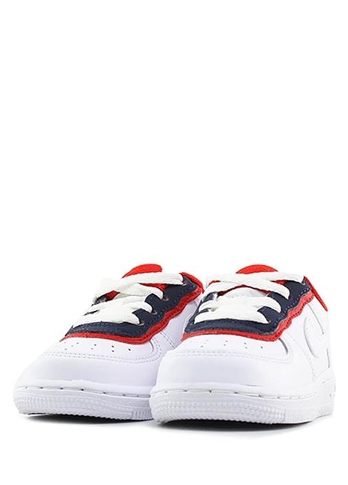 Air Force 1 LV8 1 DBL Beyaz Unisex Bebek Sneaker