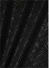 Siyah Geometrik Desenli 90x90 cm Kadın Eşarp