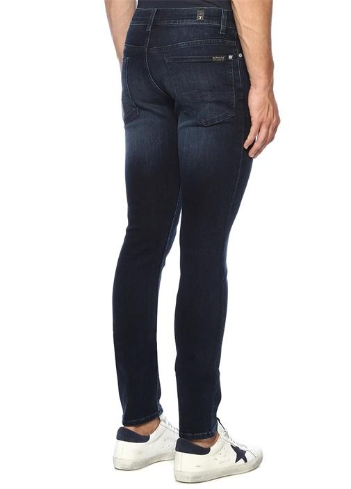 Ronnie Skinny Fit Lacivert Jean Pantolon