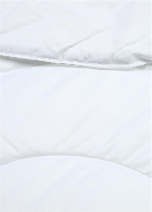 Beyaz Kapitoneli Çift Kişilik Yatak Örtüsü