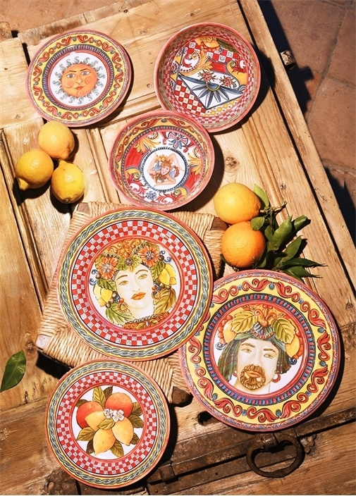 Barok 7 Parça Meze Tabağı