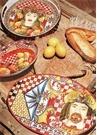 Barok Turuncu Salata Kasesi