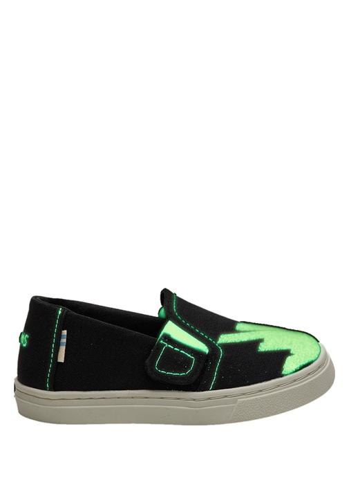 Glow In The Dark Siyah Unisex Çocuk Sneaker
