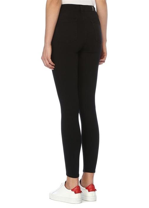 Aubrey Slim Illusion Siyah Skinny Jean Pantolon