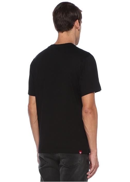 Vibrant Siyah Lego Kabartmalı T-shirt
